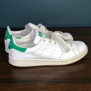 Adidas Stan Smith Boys Sneakers Size 5.5